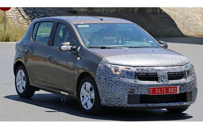 Dacia представит обновленный Sandero уже осенью 1