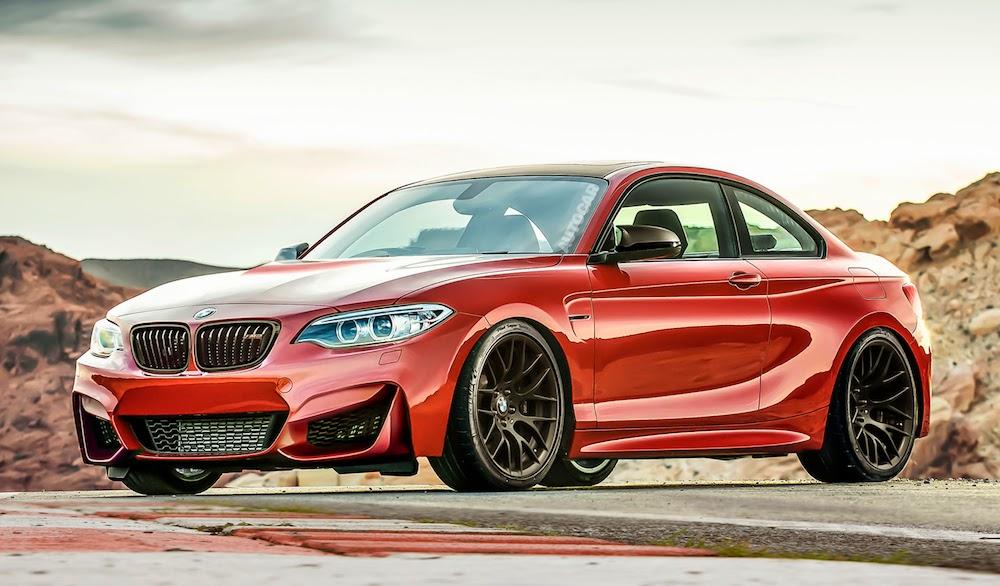 BMW презентует новое купе 1