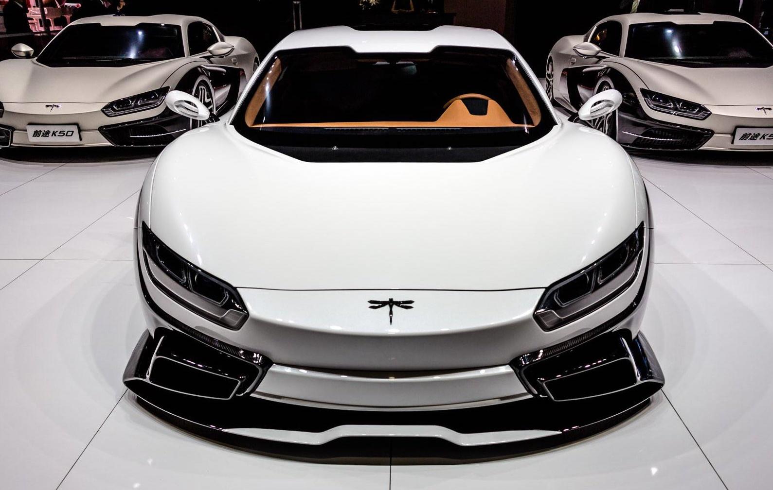 В Поднебесной покажут конкурента Tesla Model S 1