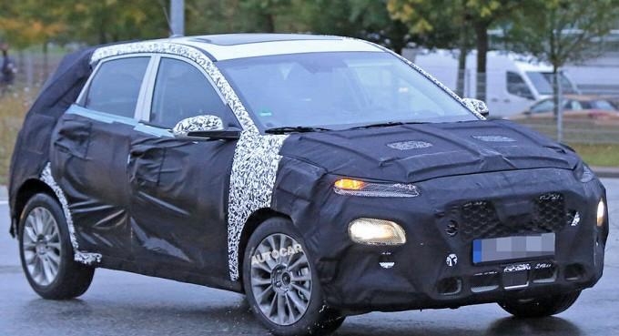 Новый кроссовер Hyundai рассмотрели сквозь камуфляж 1