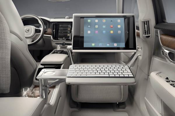 Volvo предлагает модель без переднего сидения 2