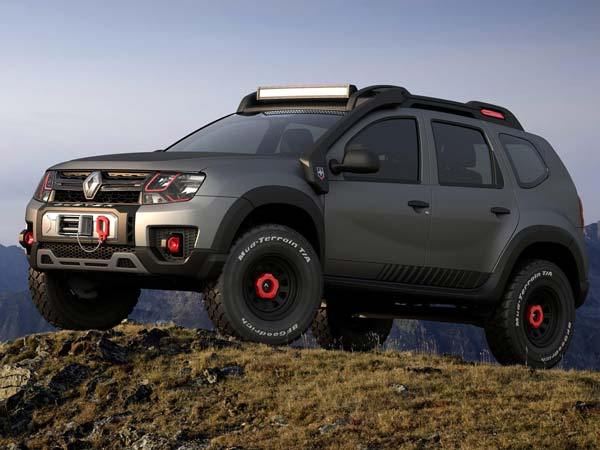 Renault создала «экстремальную» версию «Дастера» 1