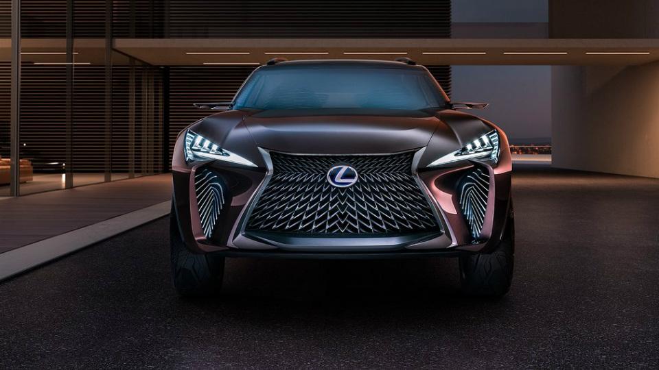 Lexus запустит в серию водородный кроссовер 1