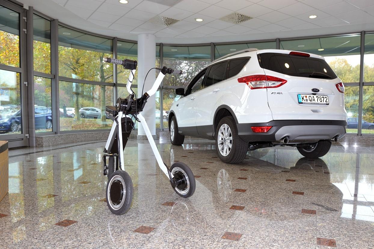 Инновации от Ford: если лень идти пешком до парковки 2