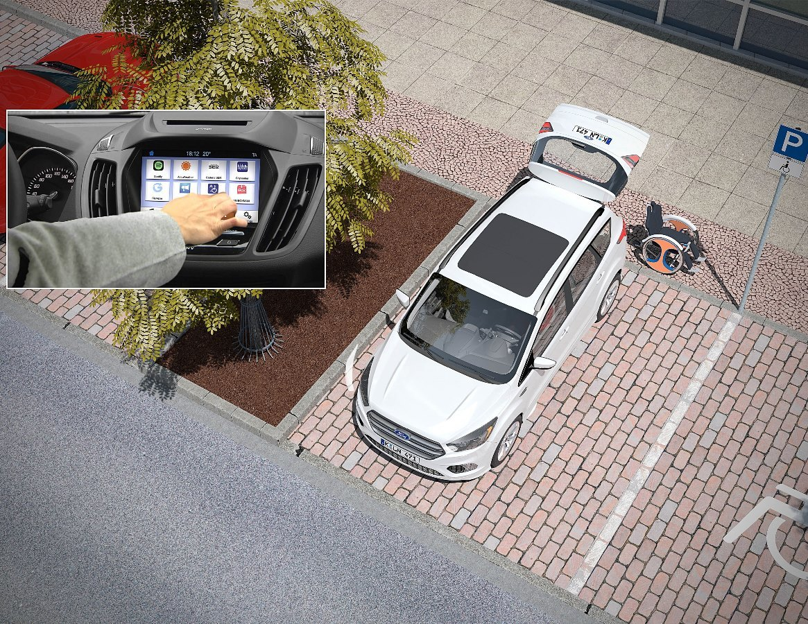 Инновации от Ford: если лень идти пешком до парковки 3