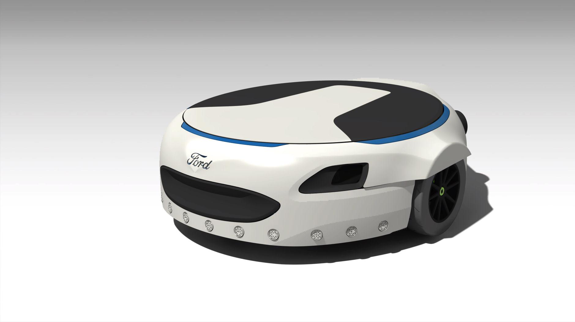 Инновации от Ford: если лень идти пешком до парковки 1