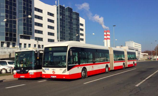 Наибольший автобус Чехии продержался лишь два часа 1