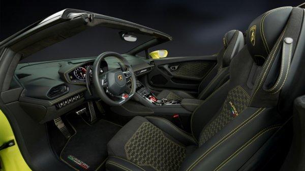 Lamborghini Huracan Spyder дебютировал 4