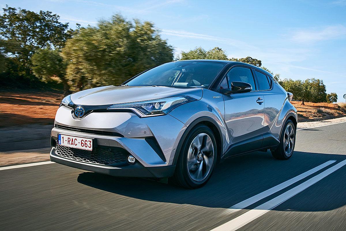 «Модный внедорожник»: тест-драйв Toyota C-HR 3