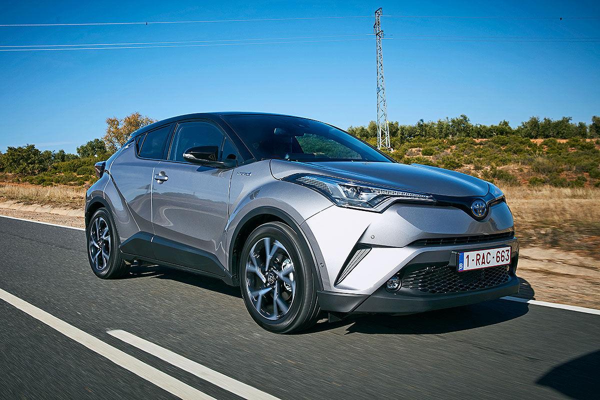 «Модный внедорожник»: тест-драйв Toyota C-HR 1
