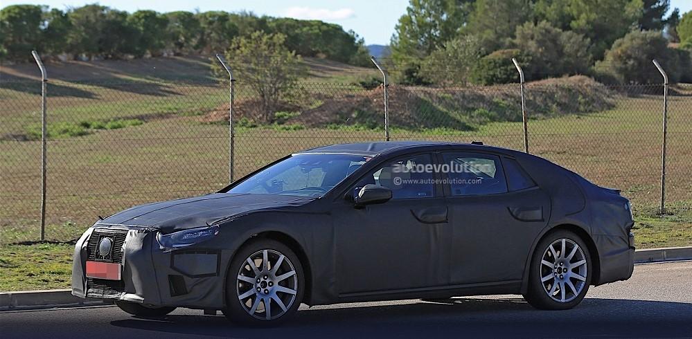 Lexus LS нового поколения вырулил на тесты 2