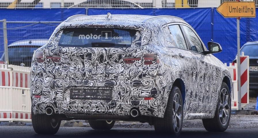 В Сети опубликованы свежие фотографии BMW X2 3