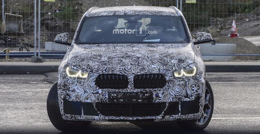 В Сети опубликованы свежие фотографии BMW X2 1
