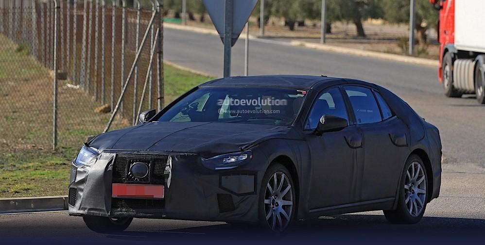 Lexus LS нового поколения вырулил на тесты 1