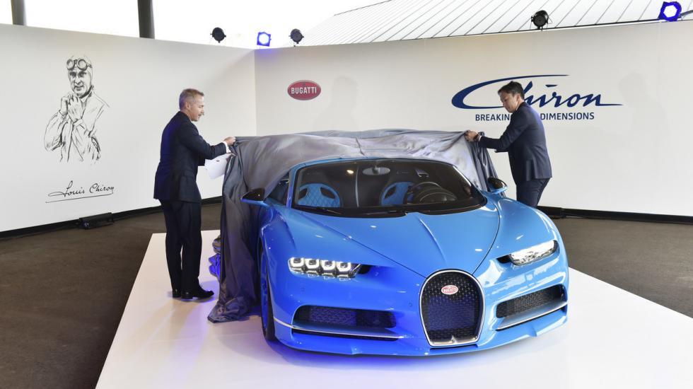 Bugatti Сhiron «порадовал» японцев 1