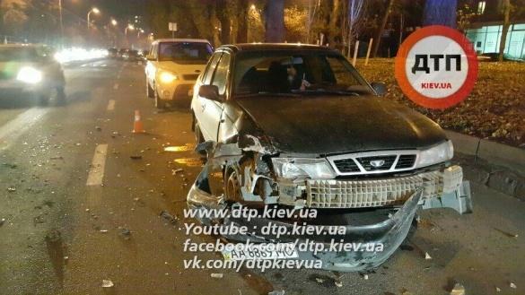 В Киеве произошло кровавое ДТП с погоней и стрельбой 1