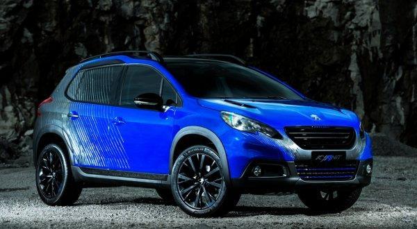 Компания Peugeot представила две концептуальные модели 2