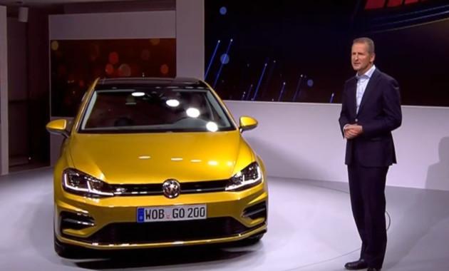 Volkswagen представил обновлённый Golf VII 1