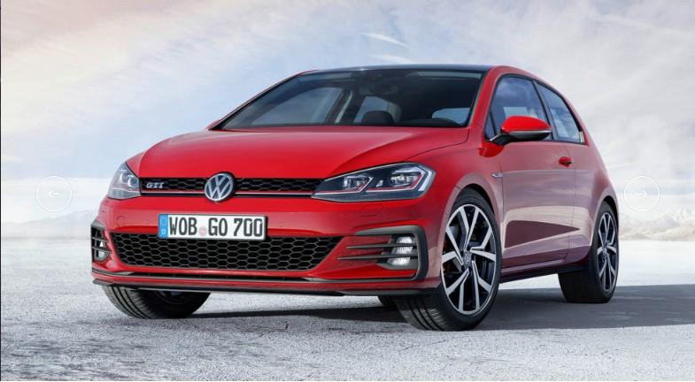 Volkswagen представил обновлённый Golf VII 5