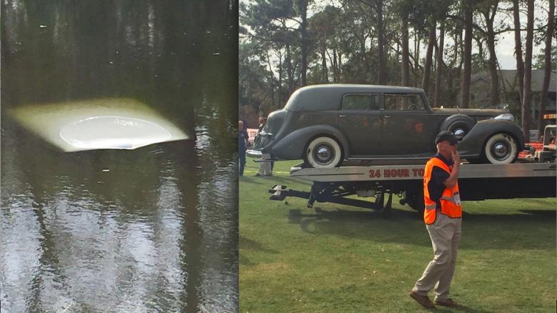 Эксклюзивный Packard утонул сразу после победы в конкурсе 1