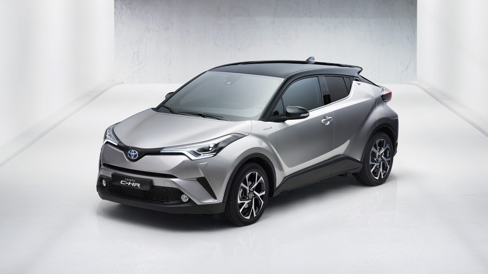 Новый кроссовер Toyota: тот еще «стиляга» 1