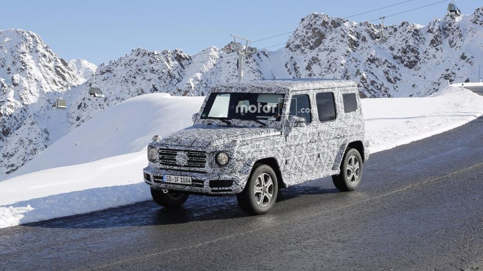 Mercedes-Benz подбирает Гелендвагену новое тело 1