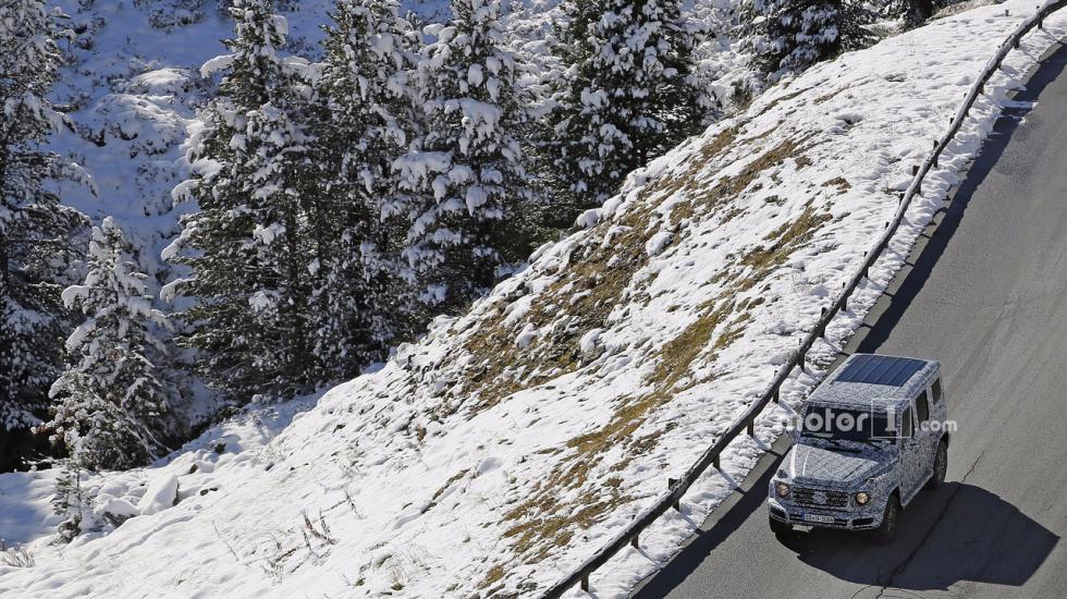 Mercedes-Benz подбирает Гелендвагену новое тело 2