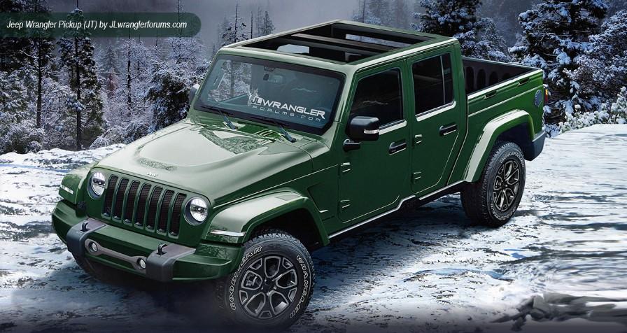 Появились изображения нового Jeep Wrangler 3