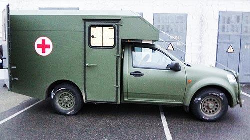 Богдан-2251 - новый полноприводный армейский пикап 1