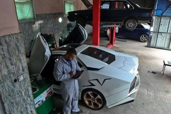 Гражданин Косово собственноручно построил Lamborghini 2