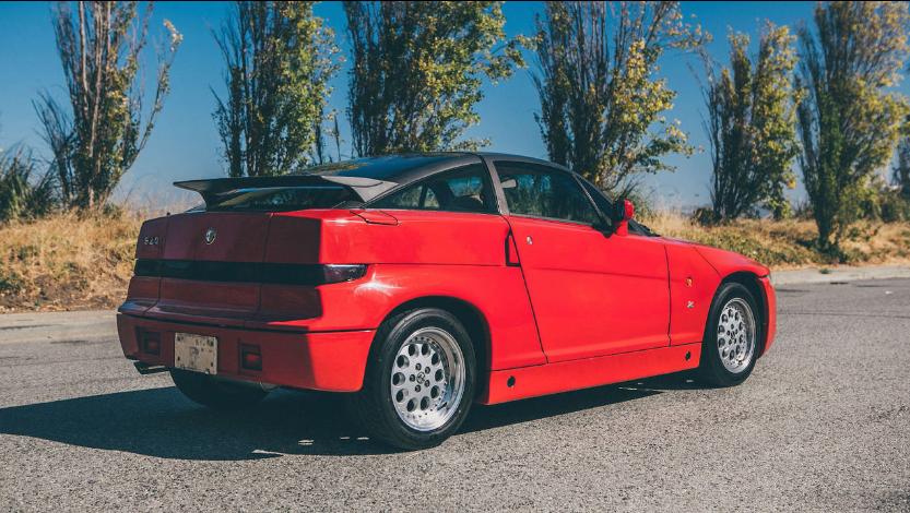Уникальный Alfa Romeo выставлен на аукцион 2