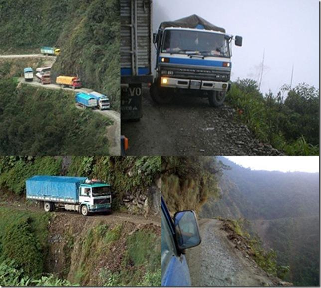 Самая «опасная» автомобильная дорога в мире 1