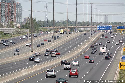 Самая широкая в мире автомобильная дорога 1
