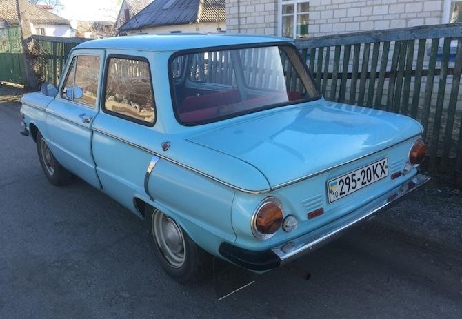 В Украине «нашли раритетный ЗАЗ» в идеальном состоянии 2