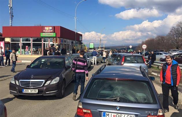 Водители Украины устроили блокаду на границе с ЕС 1