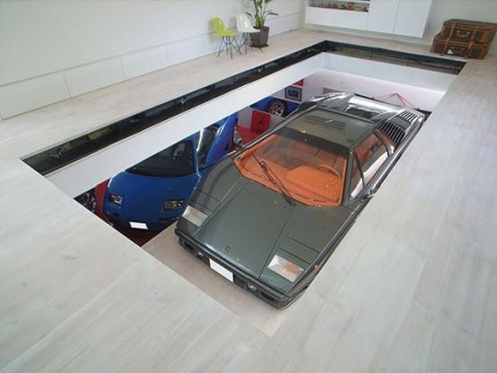 Самые необычные автомобильные гаражи 1
