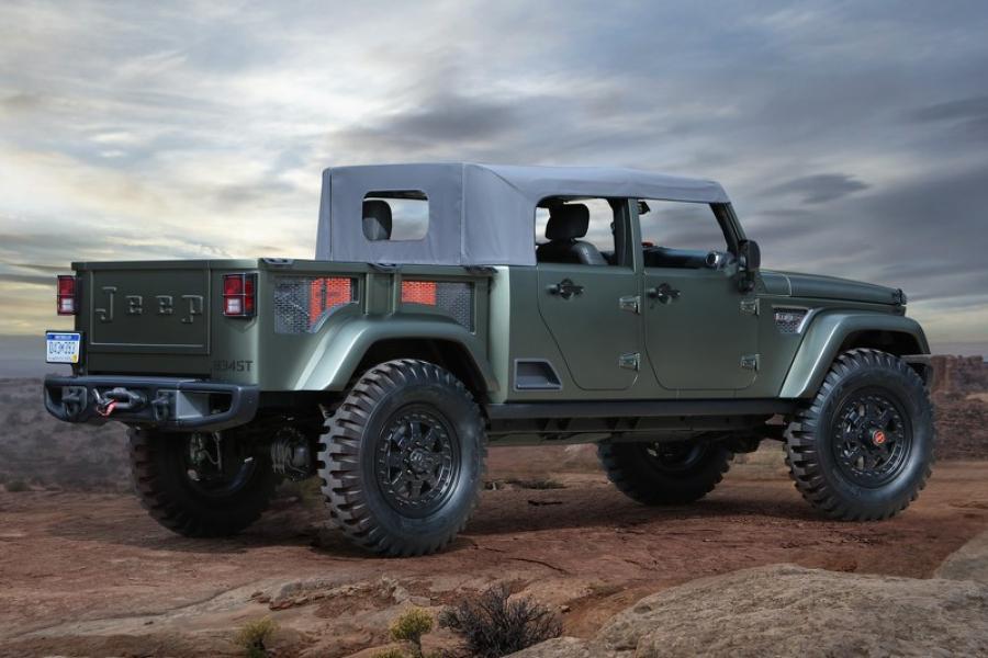 Корпорация Jeep представила  7 концептуальных внедорожников 1