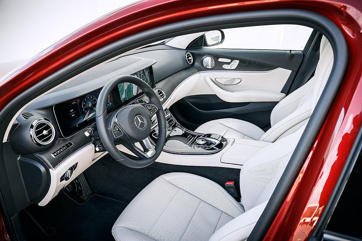 «Почти S-класс»: тест-драйв Mercedes E 300 5