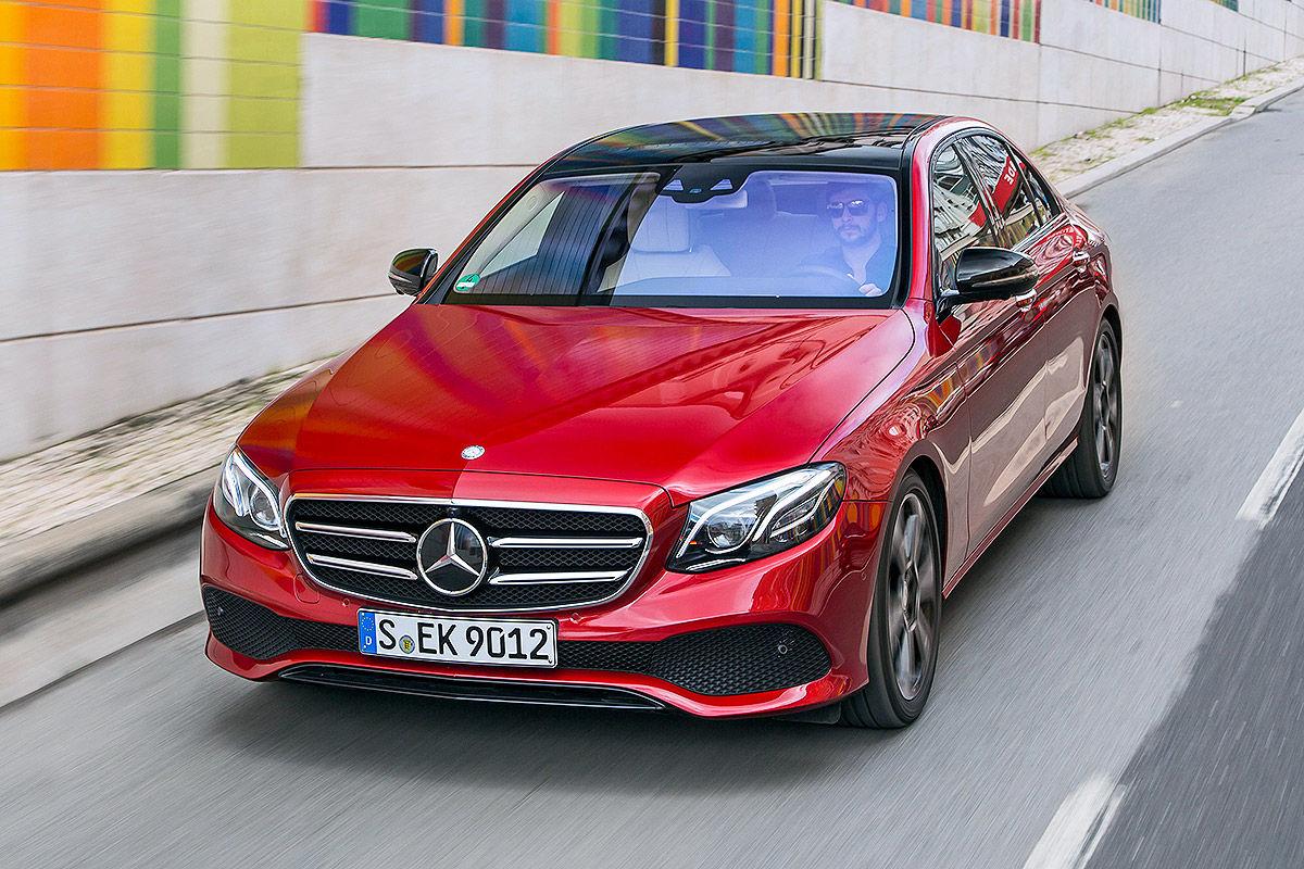 «Почти S-класс»: тест-драйв Mercedes E 300 2