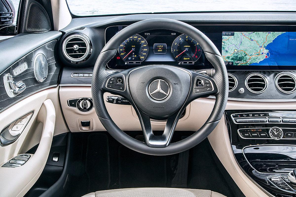 «Почти S-класс»: тест-драйв Mercedes E 300 6