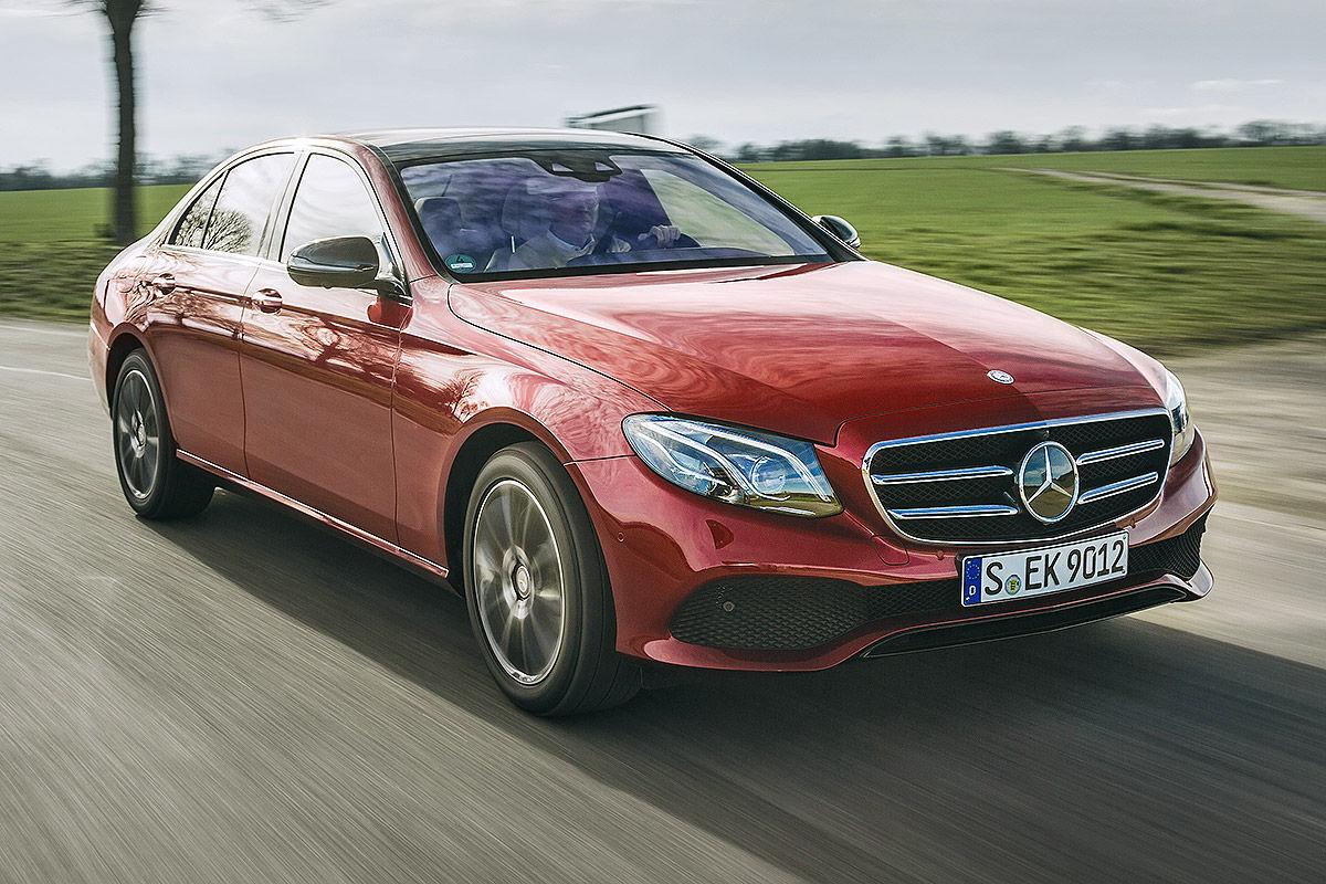 «Почти S-класс»: тест-драйв Mercedes E 300 7