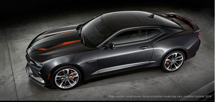 Компания Шевроле презентовала юбилейную версию Camaro 2