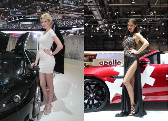 Самые красивые модели на Женевском автосалоне 2016 года 3