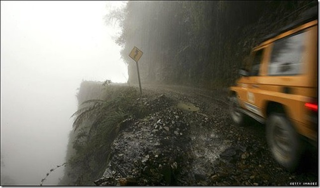 Самая «опасная» автомобильная дорога в мире 2