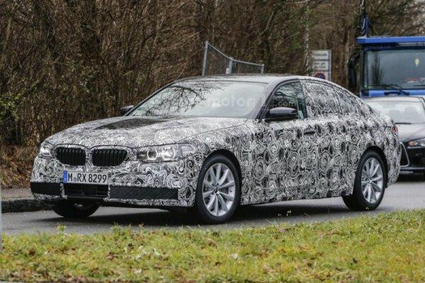 Обновление BMW: шпионские фото рестайлинговой модели 5-серии 1