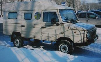 В Украине обнаружен раритетный джип ЛуАЗ 1