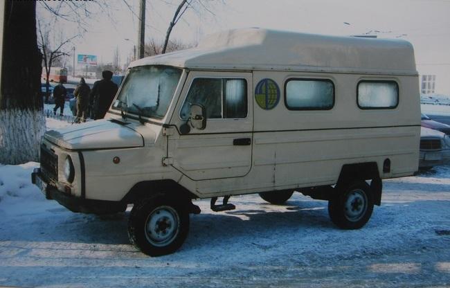 В Украине обнаружен раритетный джип ЛуАЗ 2