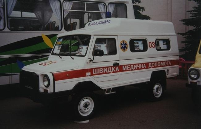 В Украине обнаружен раритетный джип ЛуАЗ 3