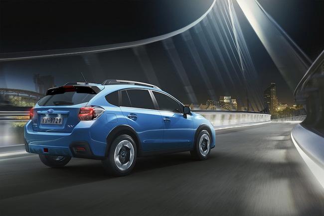 В Украину приехала обновленная Subaru XV 2
