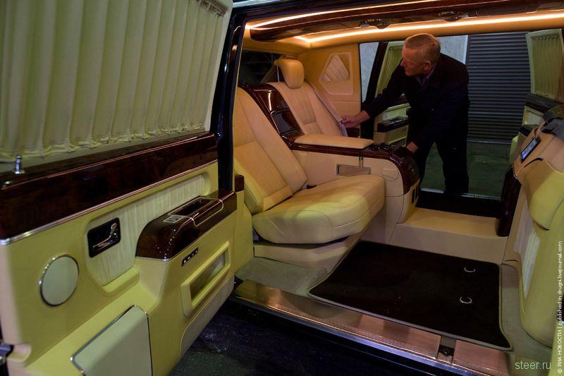 В России выставили на продажу «президентский лимузин» 3